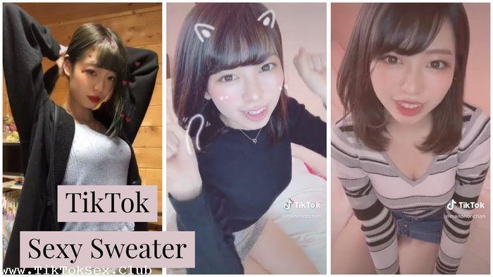 195141666 0396 at tik tok teens   japan girl  12  sexy  sweater - Tik Tok Teens - Japan Girl  12  Sexy  Sweater / by TubeTikTok.Live