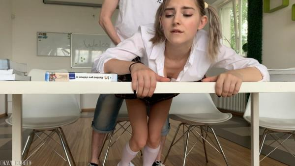 Just an Ordinary Day at School - Eva Elfie Fucked in the Classroom