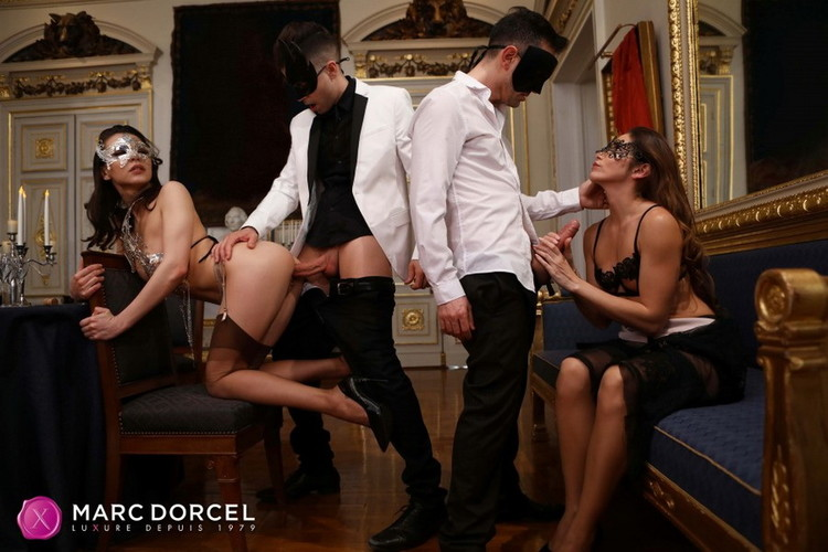 Henessy, Clea Gaultier: Henessy, Clea - A swinger night (FullHD / 1080p / 2021) [DorcelClub]