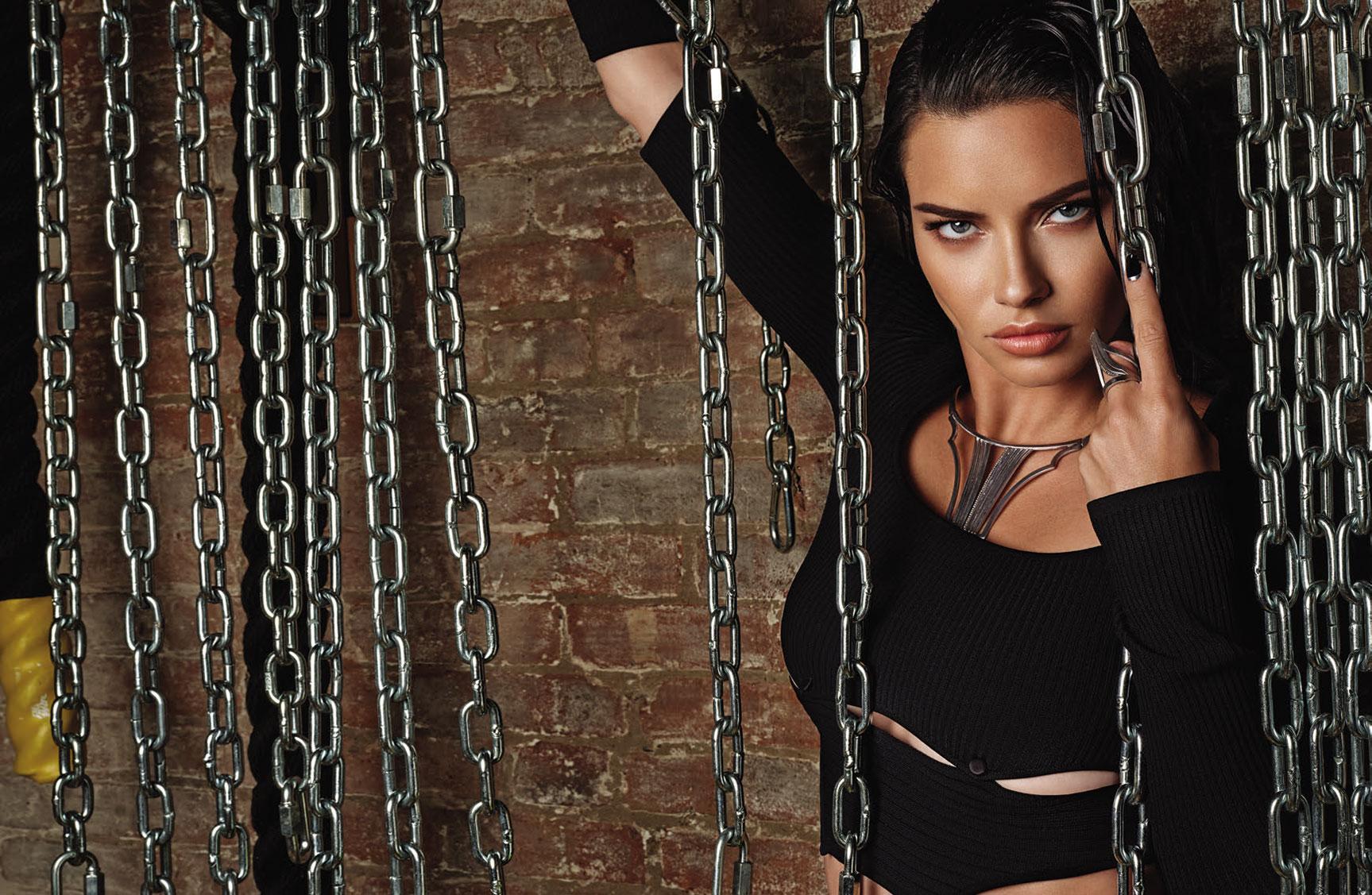 Супер-женщина Адриана Лима в журнале Numero Россия / фото 02