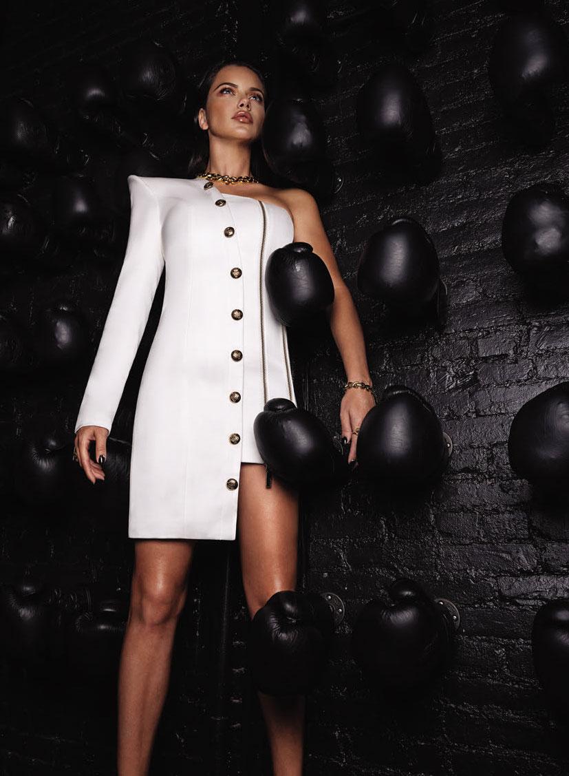 Супер-женщина Адриана Лима в журнале Numero Россия / фото 13