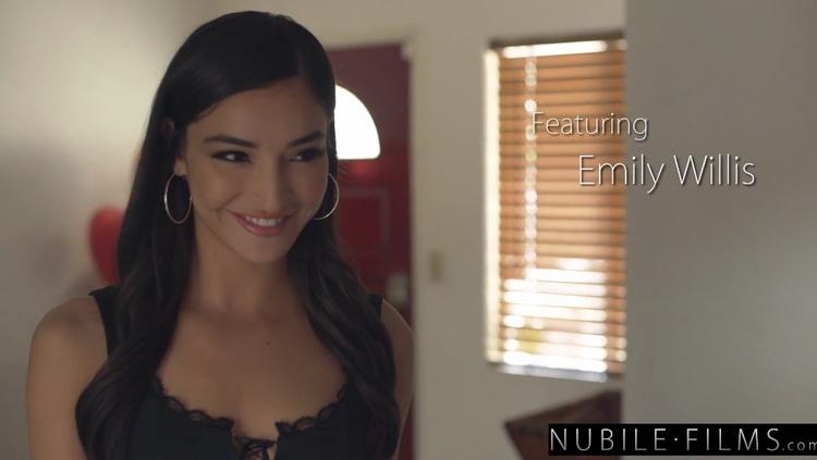 Emily Willis: Hot Brunette Emily Willis Fantasy Sensual BJ and Fuck - S1:E8 (FullHD / 1080p / 2021) [NubileFilms]