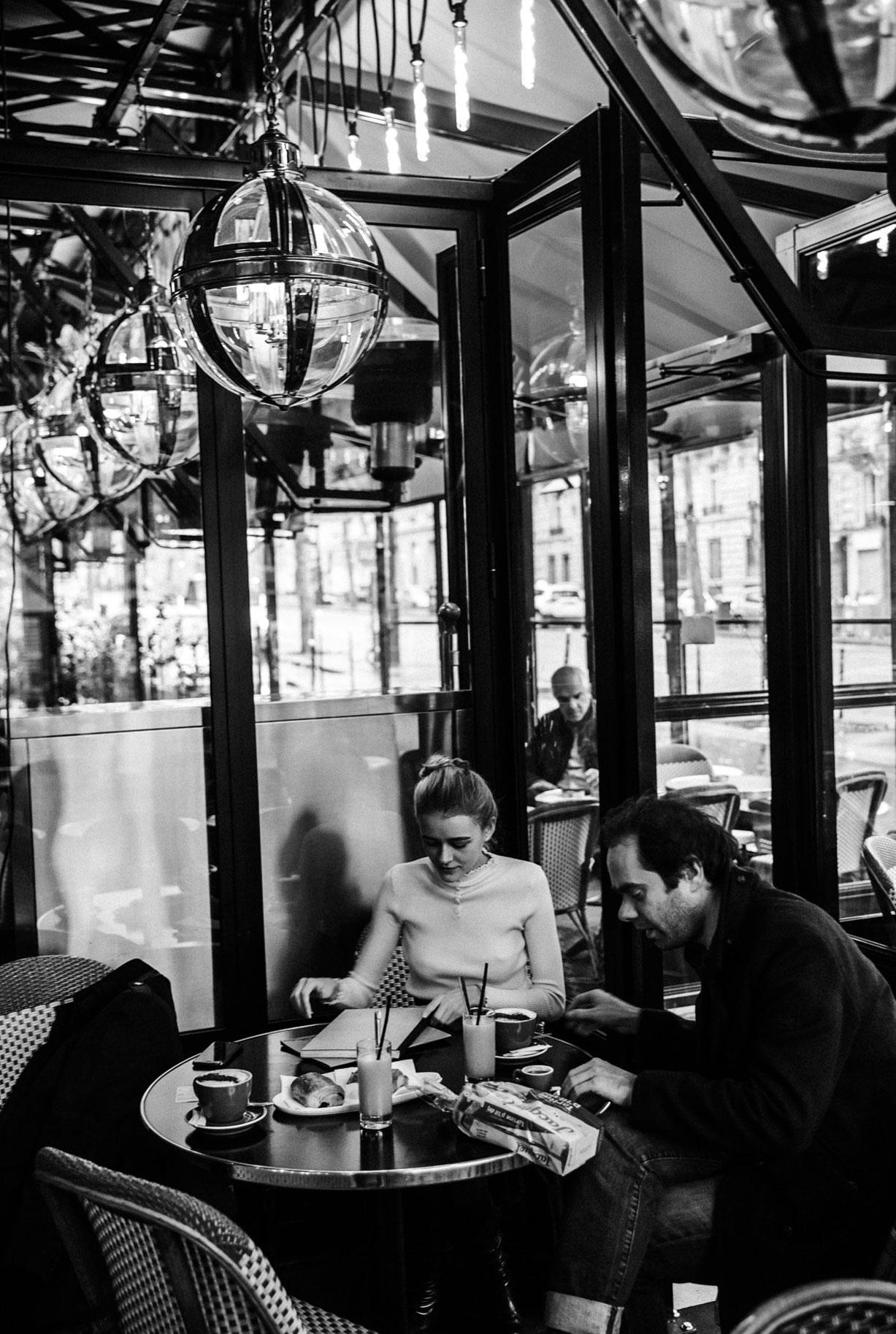 Яна Нагорняк в мастерской парижского художника / фото 02