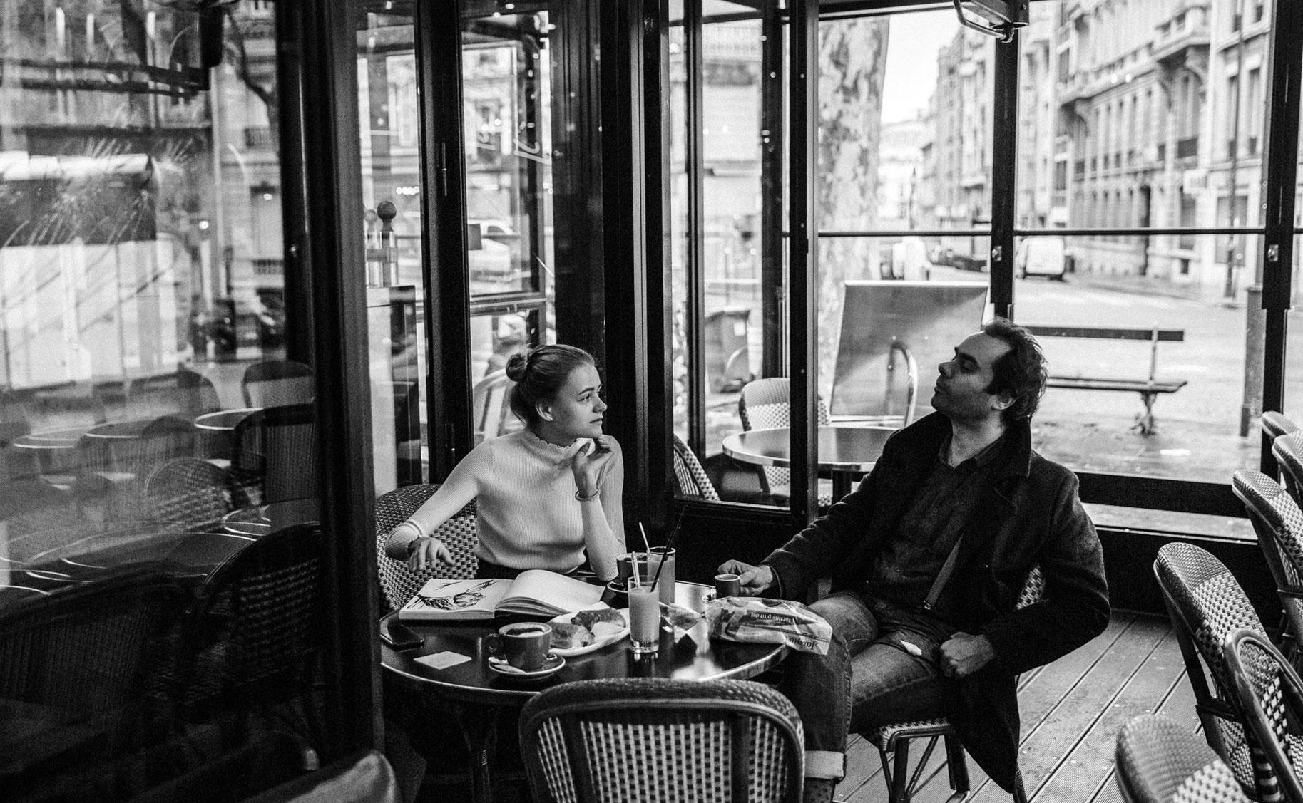Яна Нагорняк в мастерской парижского художника / фото 04