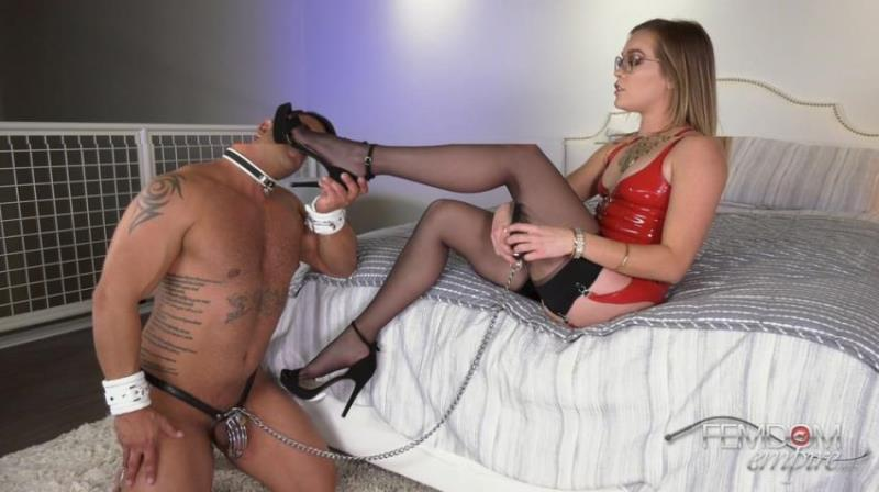 Katie Kush ~ Cheaters Eat Feet ~ FemdomEmpire ~ FullHD 1080p