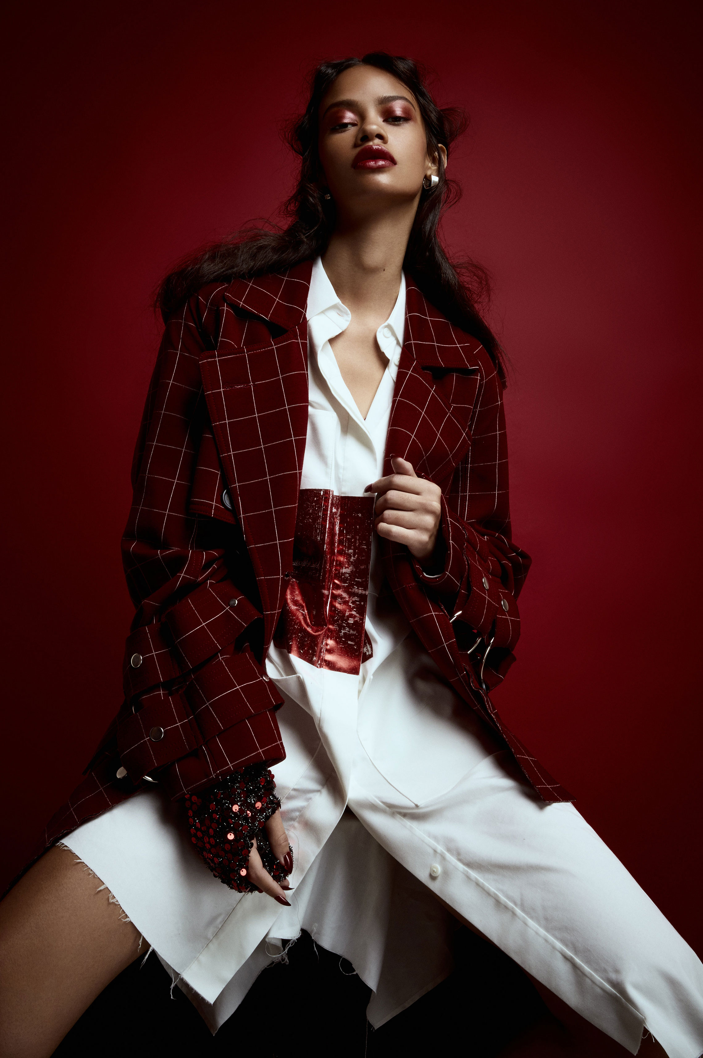 Таис Мартинс - женщина в красном / фото 03