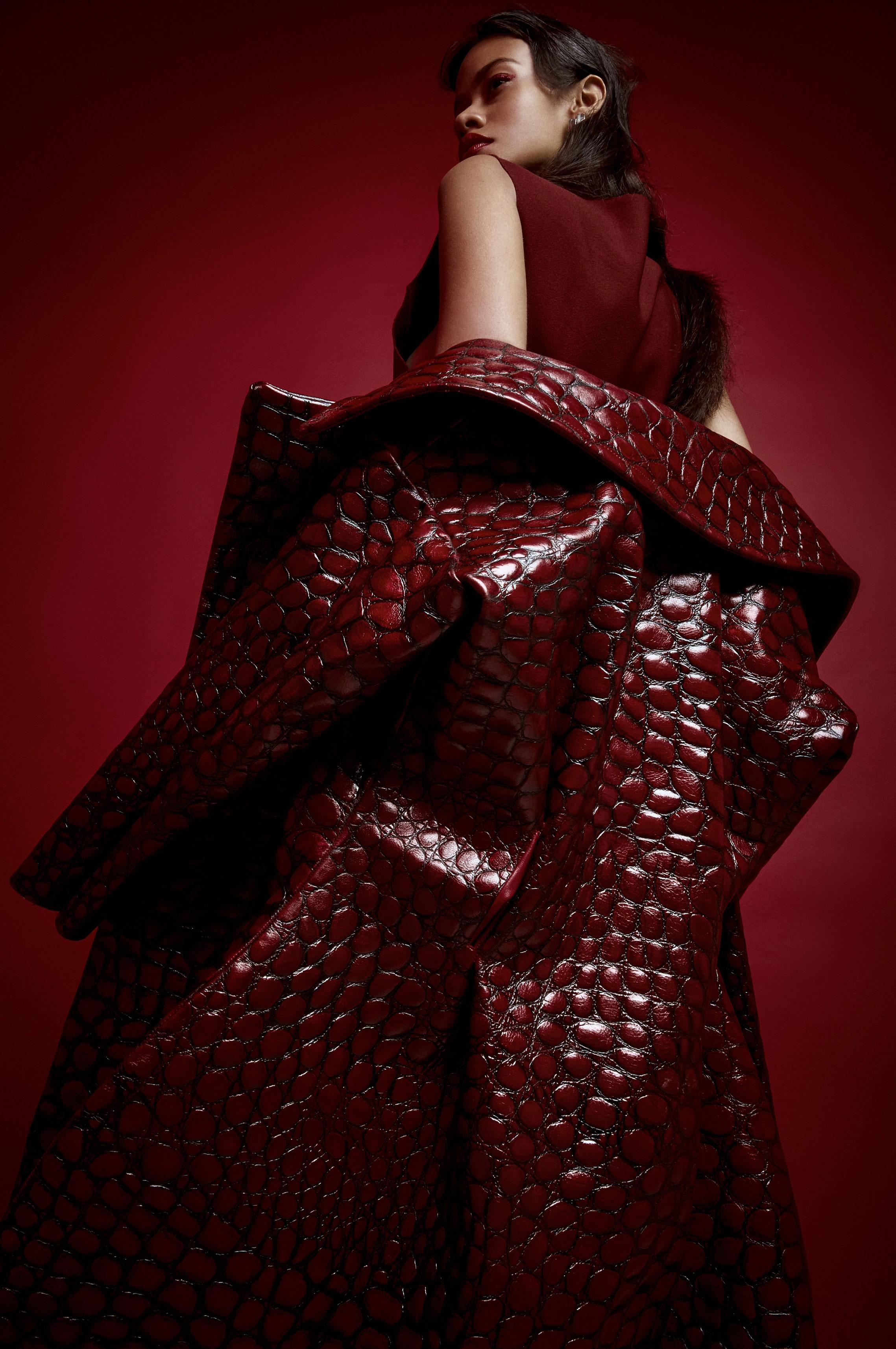 Таис Мартинс - женщина в красном / фото 09