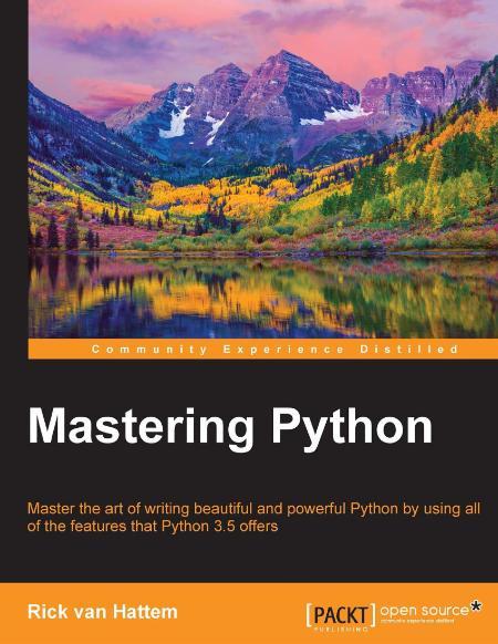 Hattem Mastering Python 2016