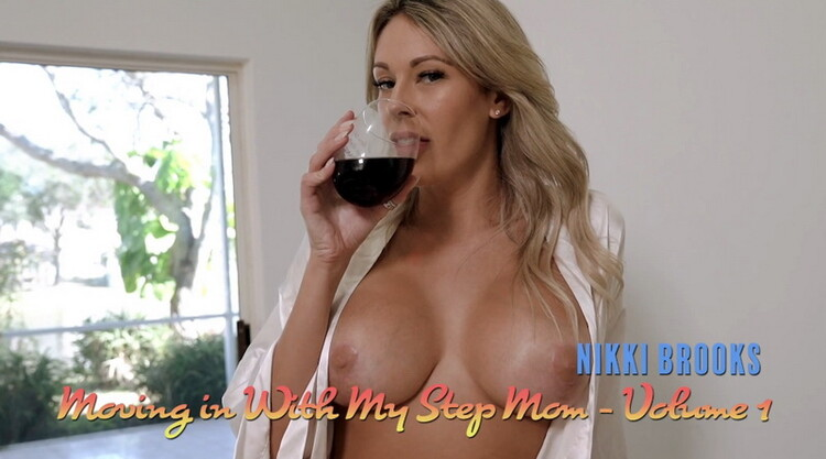 [LukeLongly] - Nikki Brooks - Step Mom gives me Tour of the new House and her new Tits (2021 / FullHD 1080p)
