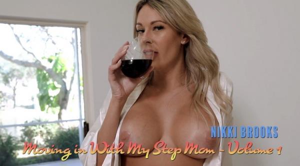 LukeLongly: Nikki Brooks - Fucking my Step Mom for Breakfast (FullHD) - 2021