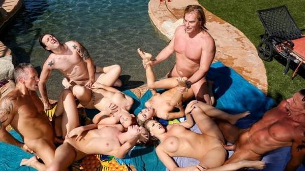 Neighborhood Swingers Pool Party