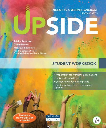 Upside English As A Second Language Student Workbook