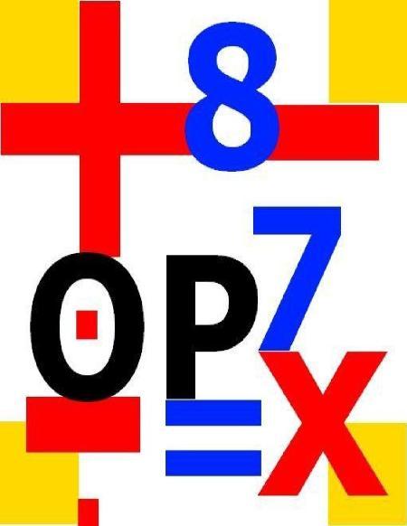 Opculato Mathematical Puzzle Book The Arithmetic Operator Calculation Puzzle Game