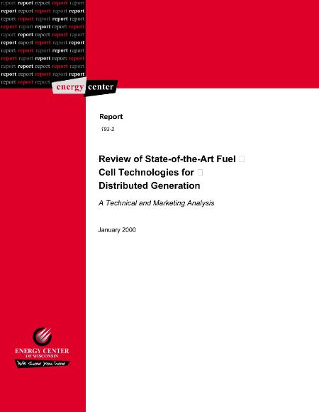 Review Of State Of The Art Fuel Cell Technologies For Distri