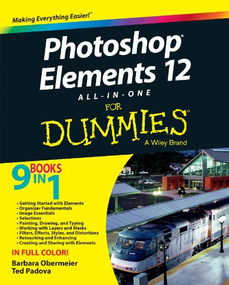Photoshop Elements 12 All In One For Dummies