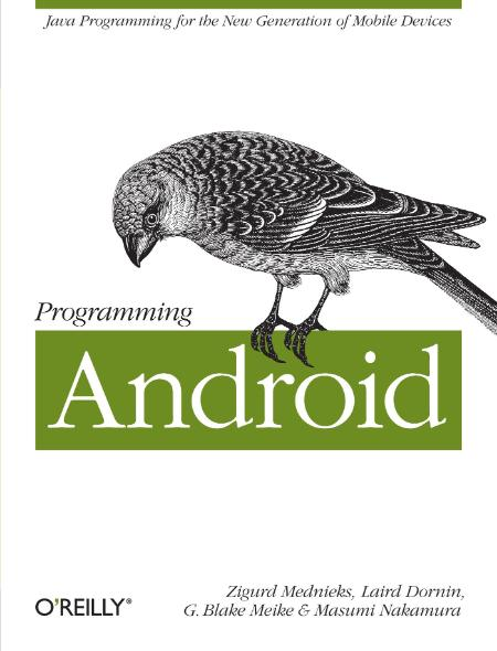 Programming Android 2011