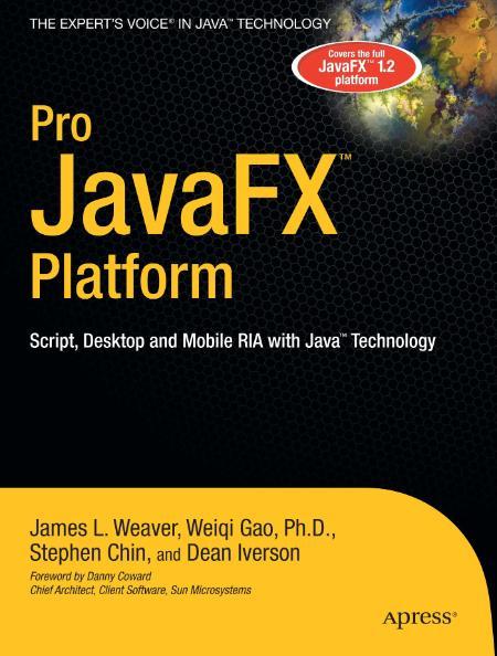 Pro Javafx Platform 2009