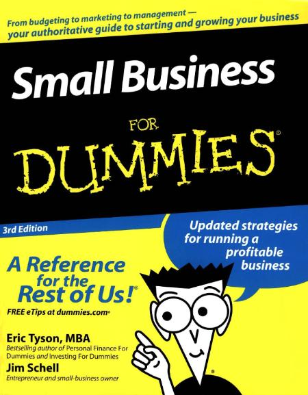 Small Business For Dummies 3rd Edition