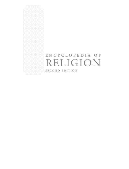 The Gale Encyclopedia Of Religion 2nd Ed Vol 3