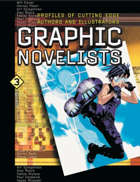 U X L Graphic Novelists Vol 1