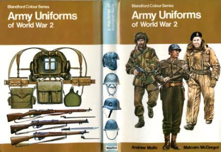 Army Uniforms Of World War 2 Blandford Colour Series