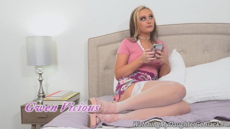 [DogfartNetwork] - Jason Sweets - Pervert Dad Invites Horny Black Men to do Anal with Gwen Vicious (2021 / FullHD 1080p)
