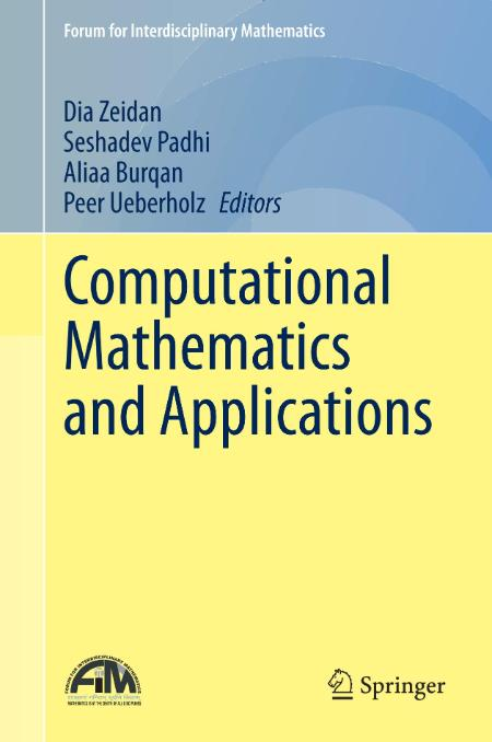 Computational Mathematics And Applications Springer 2021