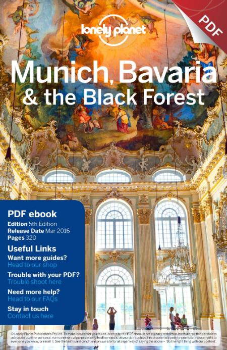 Munich Bavaria The Black Forest 2016 Lonely Planet