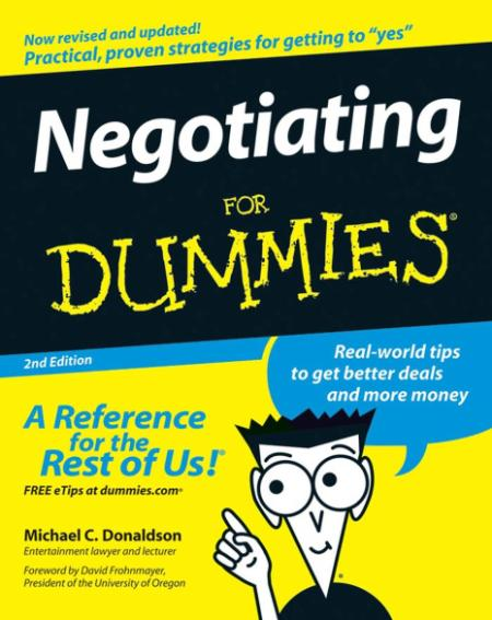 Negotiating For Dummies 2