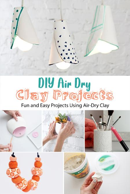 Diy Air Dry Clay Projects - Fun And Easy Projects Using Air-Dry Clay - Diy Air Dry...