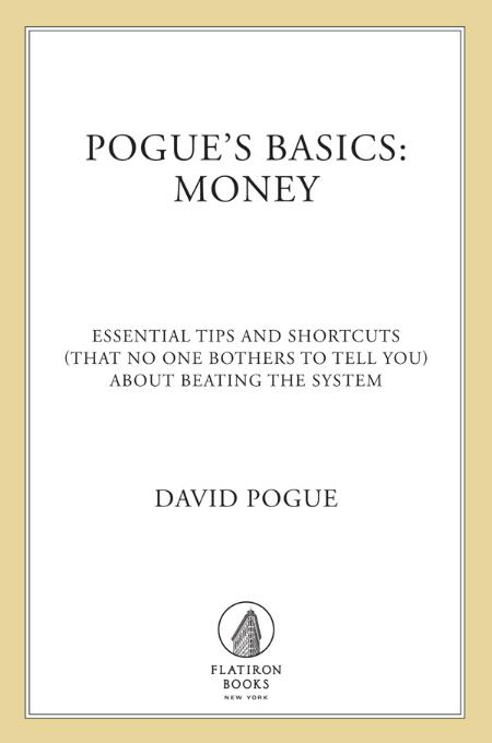 Pogue's Basics--Money - David Pogue