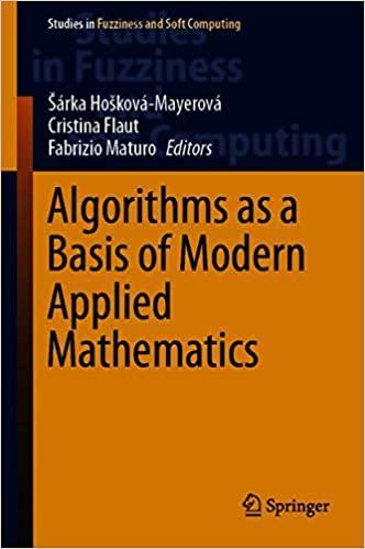 Algorithms as a Basis of Modern Applied Mathematics